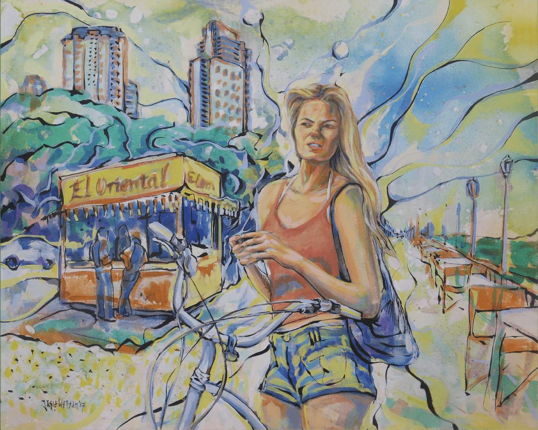 Blond Bondiola Buenos Aires WatsOnArt Josie Watson Arte