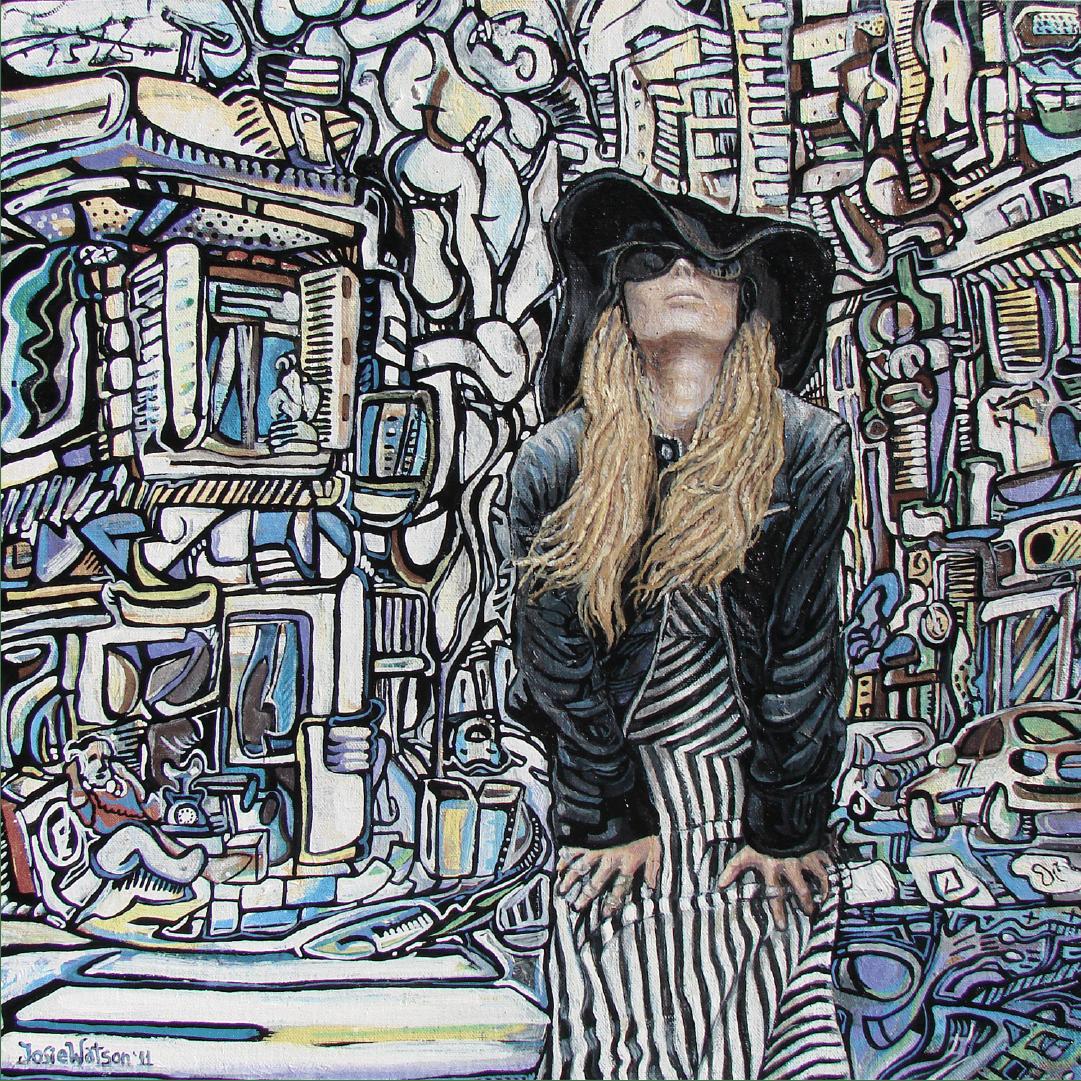 Femme automatique Buenos Aires WatsOnArt Josie Watson Arte