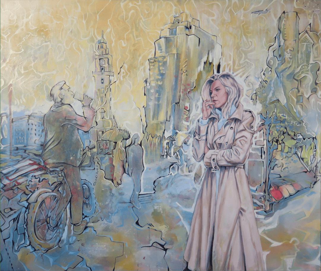 Neblina portuaria Buenos Aires WatsOnArt Josie Watson Arte