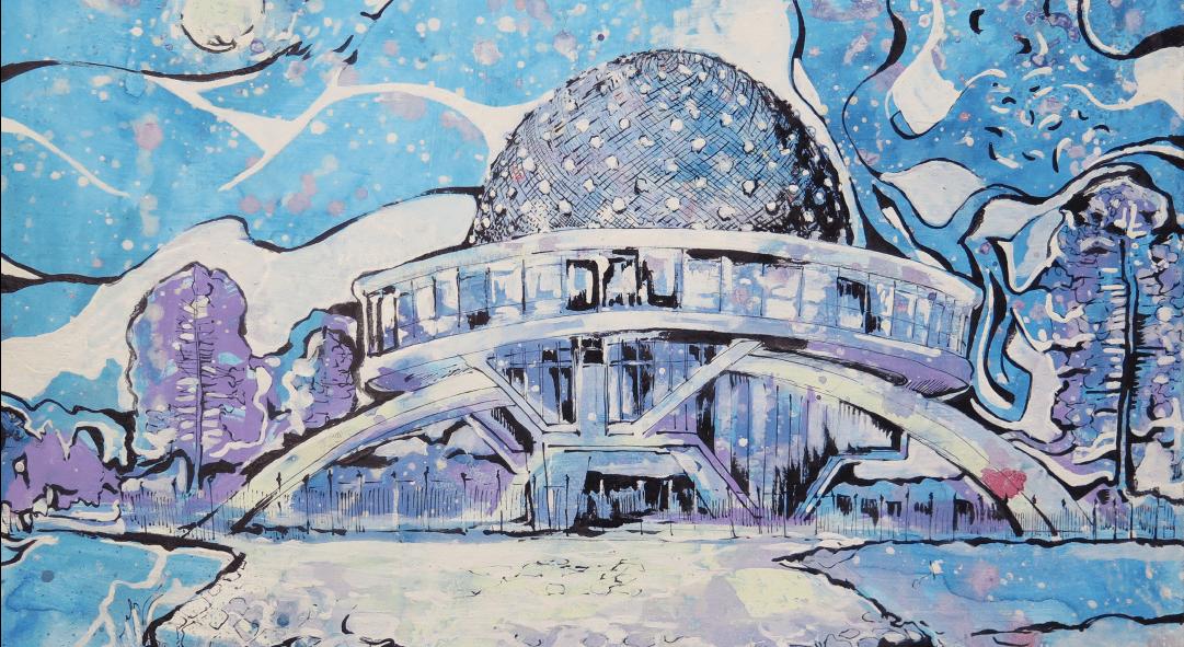 Planetario Galileo Galeilei Buenos Aires WatsOnArt Josie Watson Arte
