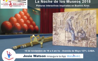 Noche de los Museos 2018 Buenos Aires – WatsOnArt