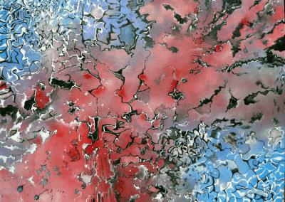 Frotis Implosion Josie Watson Arte