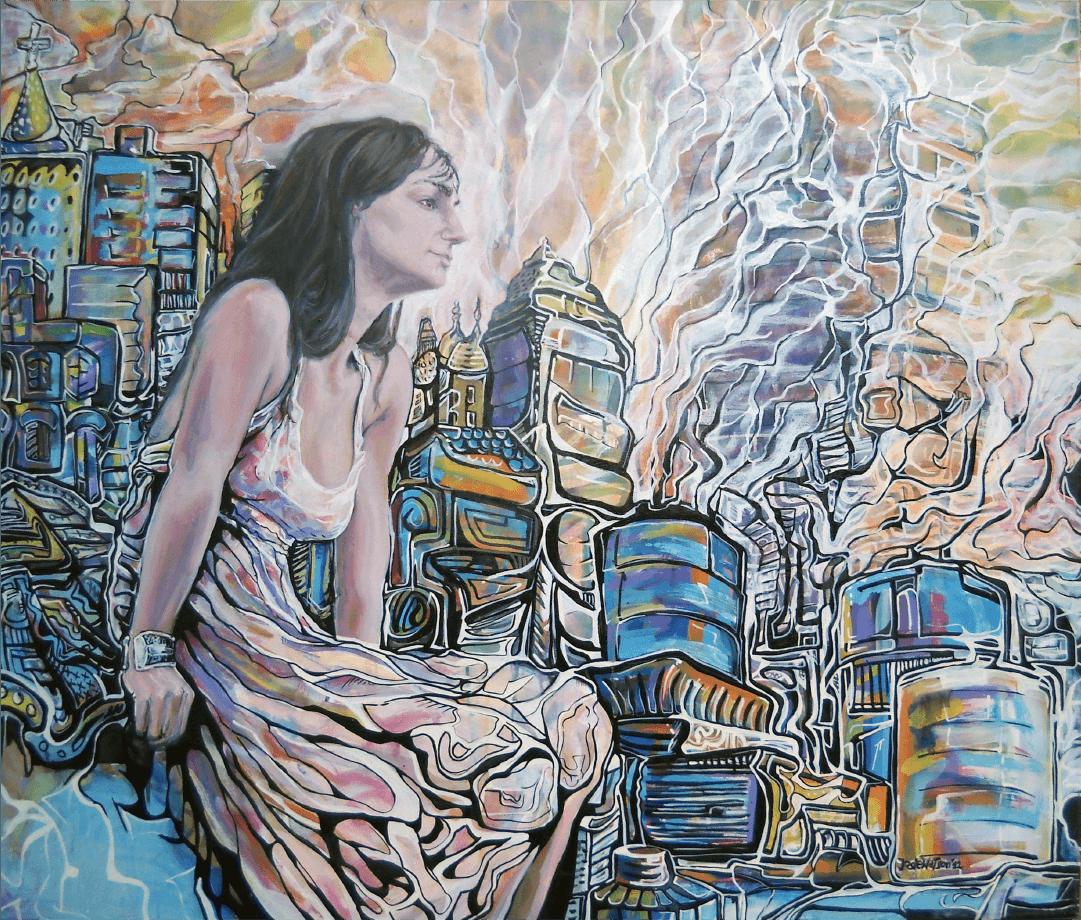 Autorretrato Buenos Aires WatsOnArt Josie Watson Arte