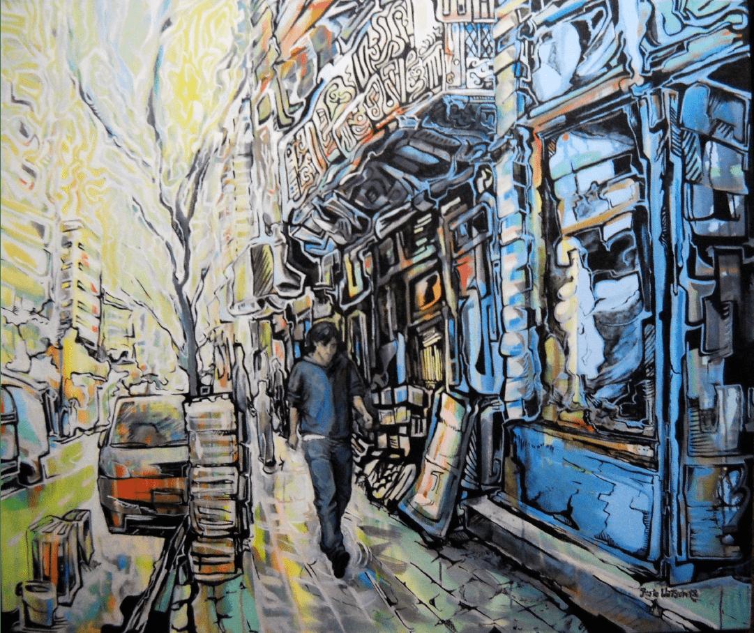 Avenida Corrientes Buenos Aires WatsOnArt Josie Watson Arte
