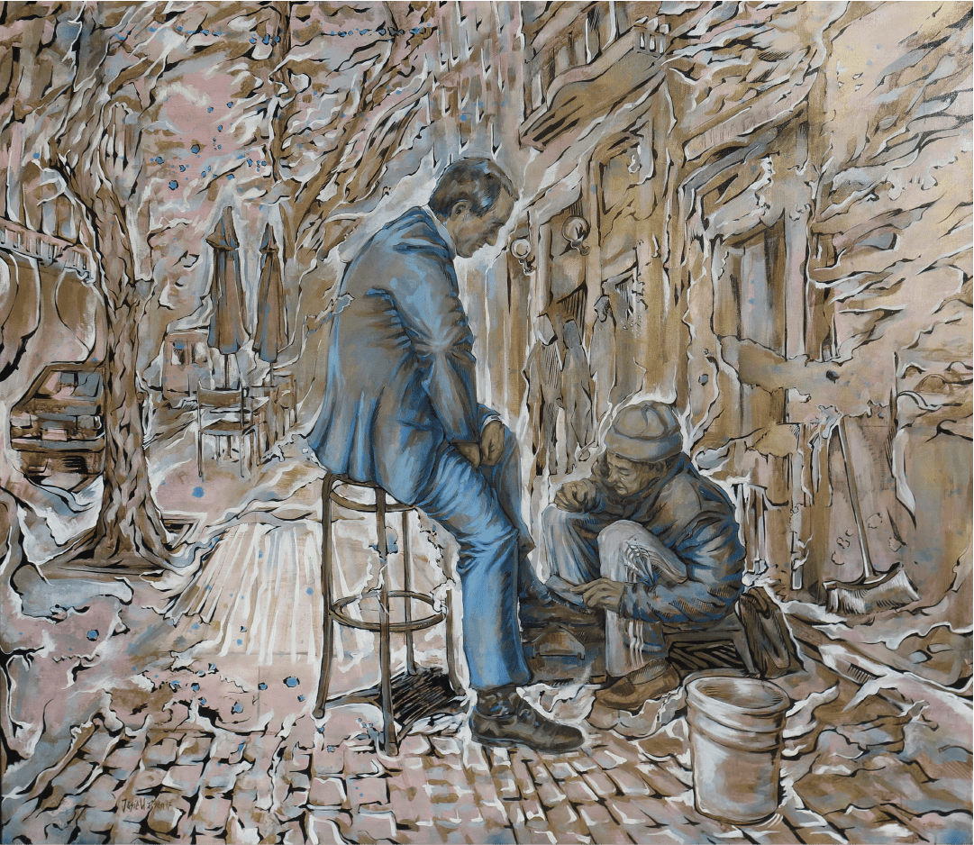 El lustrabotas Buenos Aires WatsOnArt Josie Watson Arte