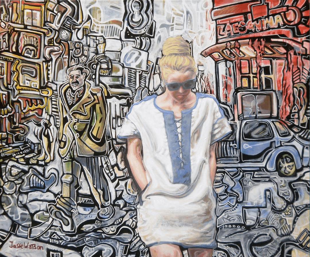 Rubio ceniza Buenos Aires WatsOnArt Josie Watson Arte