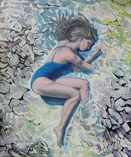 Reflejo Josie Watson pintura interactiva